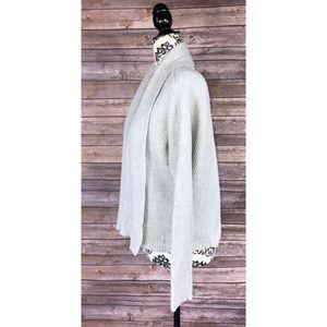 Madewell xxs cardigan gray open front oversized